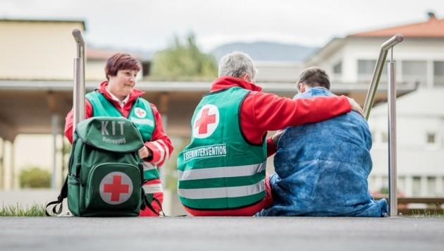 Das Rote Kreuz bietet Akuthilfe in traumatischen Situationen (Bild: Rotes Kreuz)