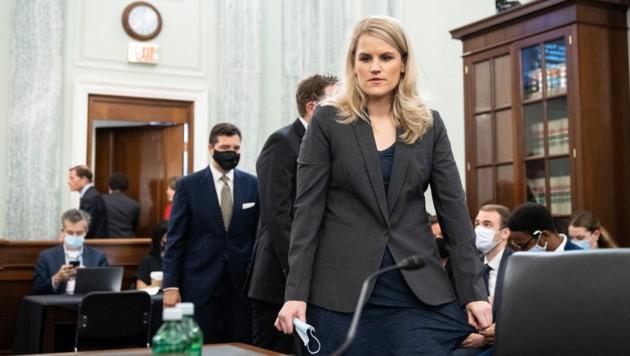 Facebook-Whistleblowerin Frances Haugen (Bild: APA/Getty Images via AFP/GETTY IMAGES/Drew Angerer)