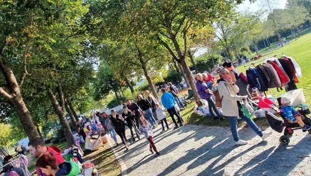 Auch der Klagenfurter Großflohmarkt wird garantiert ein Besuchermagnet. 400 Tandler stellen aus! (Bild: Rafael Kerschbaumer)