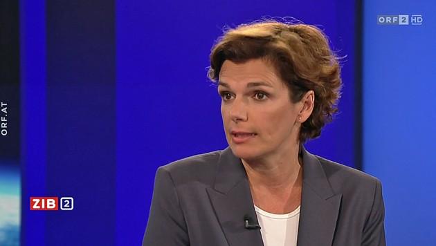 """SPÖ-Chefin Pamela Rendi-Wagner sprach am Dienstagabend in der """"ZiB 2"""" über die Steuerreform der türkis-grünen Bundesregierung. (Bild: Screenshot ORF)"""