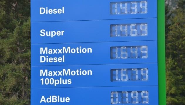Diesel ist in der Treibstoff-Hitliste immer noch ganz oben. (Bild: Daum Hubert)