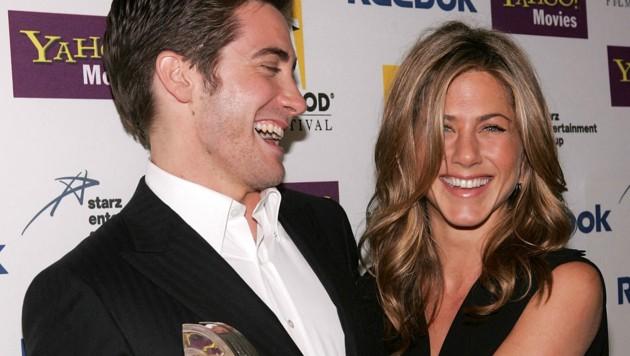 Jake Gyllenhaal und Jennifer Aniston im Jahr 2005 (Bild: 2005 Getty Images)