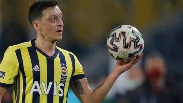 Mesut Özil (Bild: APA/AFP/POOL/Kenan Asyali)