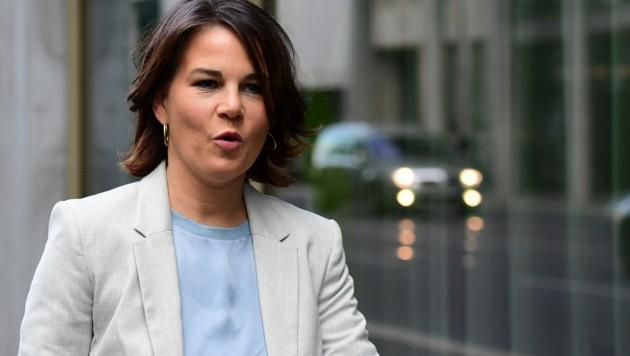 Grünen-Chefin Annalena Baerbock wird mit der SPD und der FDP die Bildung einer sogenannten Ampelkoalition sondieren. (Bild: AFP)
