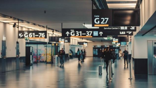 Zum Flughafen Wien wollten zwei Familien aus Niederösterreich mit einem bestellten Transfer fahren - doch es kam niemand. (Bild: ©ArtushFoto - stock.adobe.com)