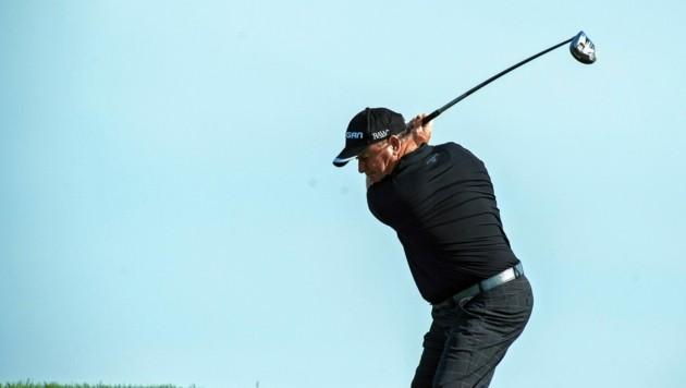Der Waliser Ian Woosnam ist der Superstar am GC Murhof. (Bild: golfsupport.nl/Jos Linckens)