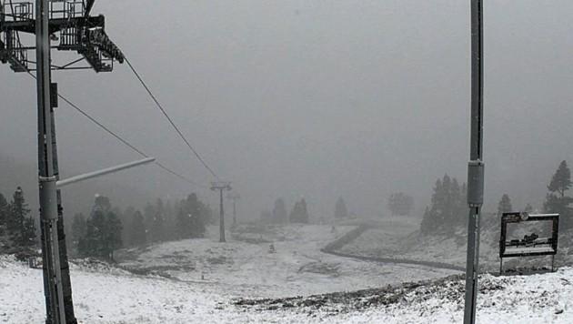 Auch am Hauser Kaibling fiel Schnee. (Bild: Hauser Kaibling)