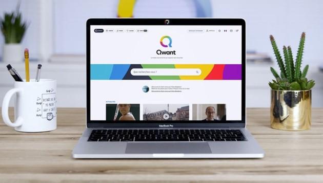 Die Suchmaschine Qwant aus Frankreich positioniert sich als europäische Alternative zu Google. (Bild: Qwant)