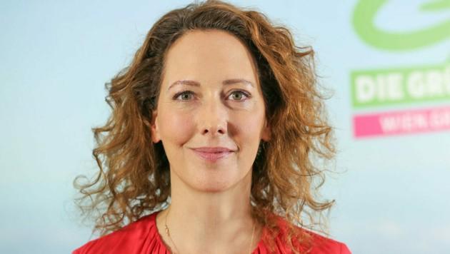 """""""Was hier gerade passiert, ist nicht normal"""", sagt die grüne nicht amtsführende Wiener Stadträtin Judith Pühringer. Man könne nicht zu """"irgendeiner Tagesordnung"""" übergehen. (Bild: APA/Grüne Wien/Norbert Novak)"""