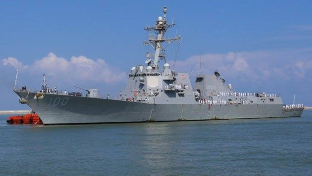 Die USS KIDD ist ein Zerstörer der US-Navy. (Bild: facebook.com/USS KIDD)