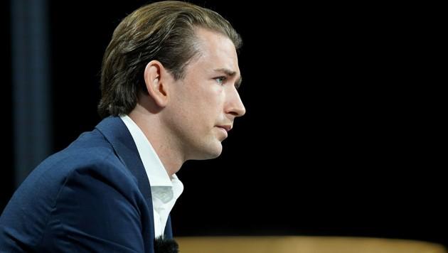 Die Opposition fordert geschlossen den Rücktritt des Kanzlers. (Bild: ORF)