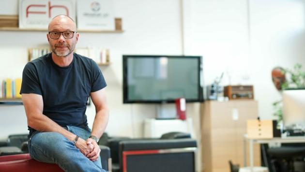 """""""Viele Innovationen kommen von Start-ups. Wir brauchen sie wie einen Bissen Brot"""", so Gerold Weisz. (Bild: Markus Wenzel)"""