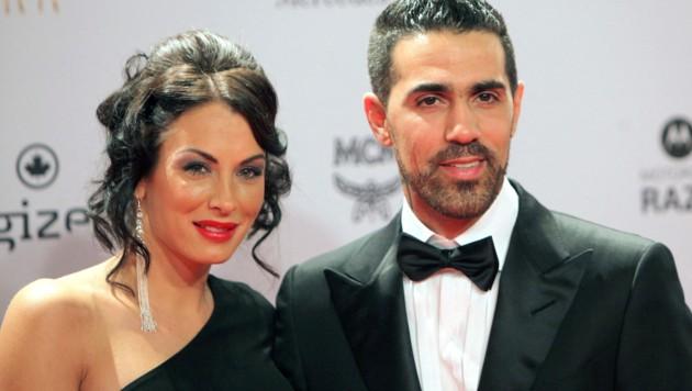 Bushido mit seiner Ehefrau Anna-Maria Ferchichi (Bild: AFP)