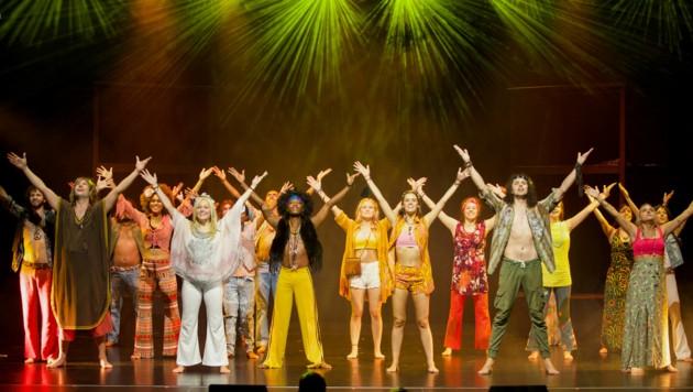 Musical Hair Stadttheater Bad Hall (Bild: Bachofner)