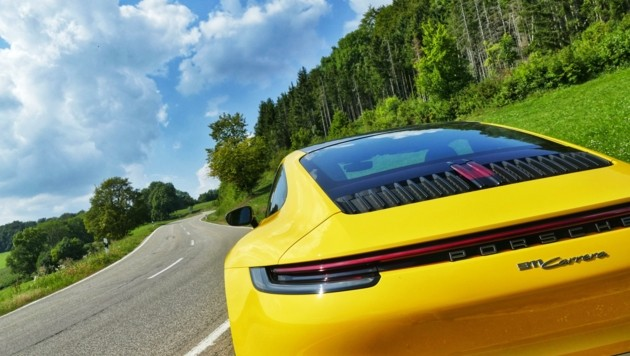 Zu schön für Nummerntafel? Porschefan zahlt 10.000 Euro (Bild: Stephan Schätzl)