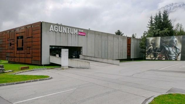 Das 1999 errichtete Museum Aguntum in Dölsach. (Bild: Martin Oberbichler)