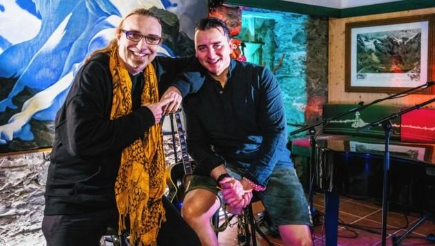 Rudi Dolezal und Andreas Gabalier (Bild: Mario Urbantschitsch)