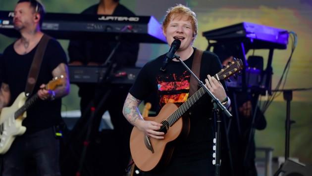 Lieder von Ed Sheeran (Bild), Hans Zimmer und Yann Thiersen sind auf Oktav echte Dauerbrenner, (Bild: AP)