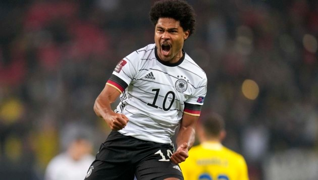 Serge Gnabry (Bild: Copyright 2021 The Associated Press. All rights reserved)