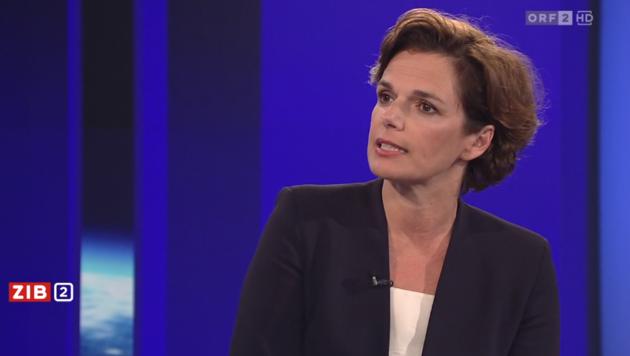 """SPÖ-Chefin Pamela Rendi-Wagner äußerte sich am Freitagabend in der """"ZiB 2"""" zur Regierungskrise. (Bild: Screenshot tvthek.orf.at/ZiB 2)"""