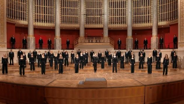 Der Chor des Wiener Konzerthauses singt für den guten Zweck. (Bild: Michaela Grabner)