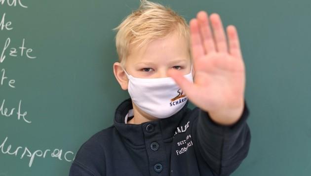 Stopp, du darfst nicht rein. Wien will die kinderfreundlichste Stadt der Welt sein. Das ist noch ausbaufähig. (Bild: Scharinger Daniel)