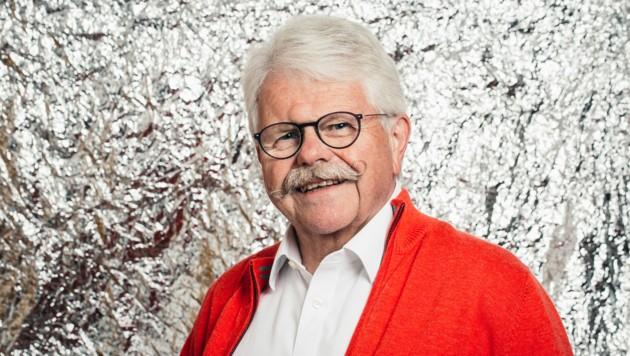 """Weinsommelier Willi Hirsch im """"Krone""""-Interview. (Bild: Mathis Fotografie)"""