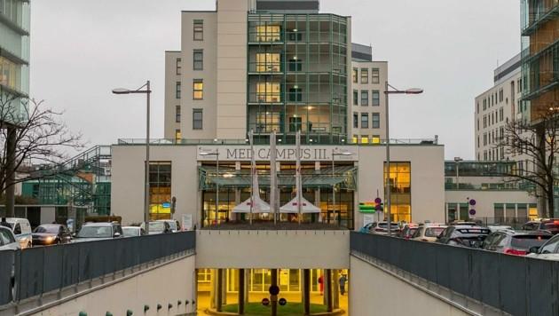 Im Kepler-Klinikum in Linz wächst die Arbeit immer weiter (Bild: Wenzel Markus)