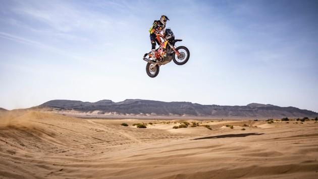 Matthias Walkner in Marokko (Bild: Red Bull Contentpool Marcin Kin)