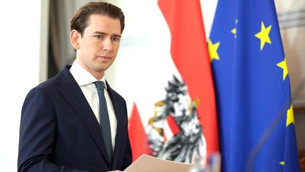 Sobald die Immunität von Sebastian Kurz als Abgeordneten im Parlament aufgehoben ist, kann weiter ermitteln werden. (Bild: APA/Georg Hochmuth)