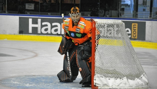 99ers-Goalie Anthony Peters fällt verletzungsbedingt sechs bis zehn Wochen aus. (Bild: Graz99ers)