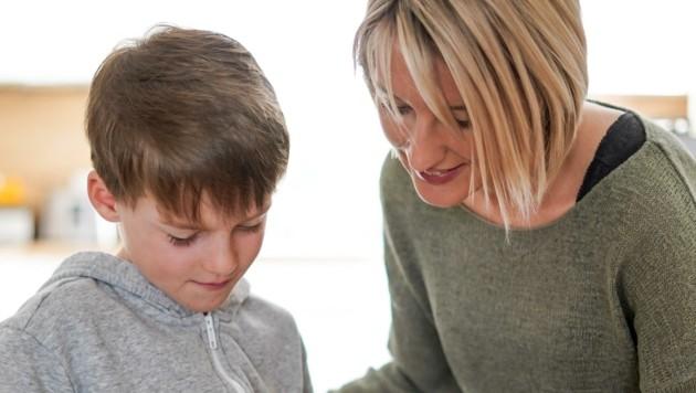 Beim Unterricht zu Hause sind Eltern auf sich gestellt. (Bild: Wenzel Markus)