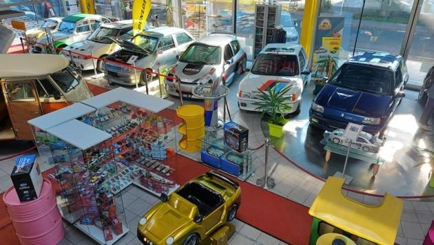 Da schlägt das Herz jedes Autofans höher. In dem Museum sind insgesamt 250 Modelle ausgestellt. (Bild: Andreas Walcher)