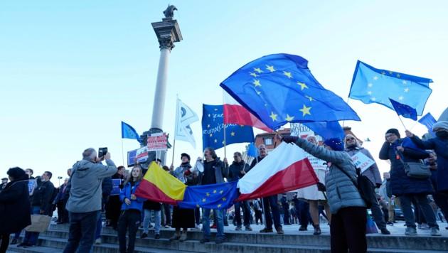 (Bild: AP/Czarek Sokolowski)