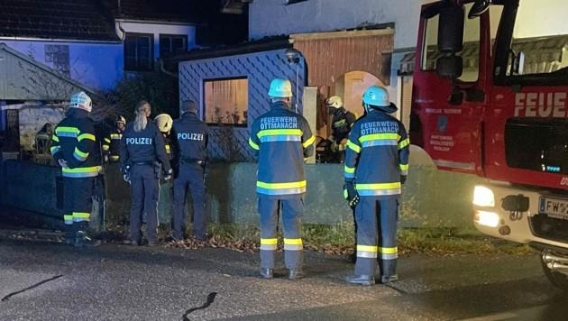 Der Heizlüfter im Keller löste den Feuerwehreinsatz aus. (Bild: zVg. FF Ottmanach )