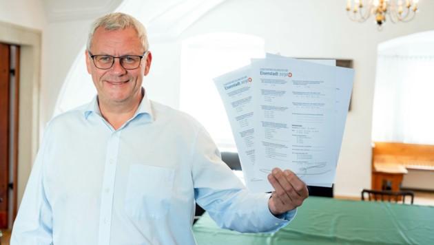 Bürgermeister Thomas Steiner hofft auf rege Beteiligung (Bild: Magistrat Eisenstadt)