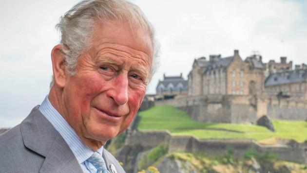 Prinz Charles Anfang Oktober 2021 in Edinburgh (Bild: APA/Photo by Jane Barlow/AFP)