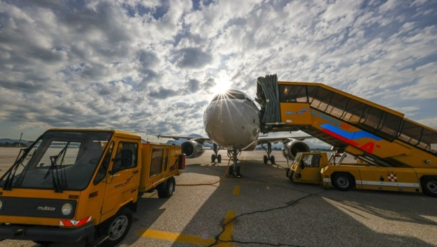 In der ausklingenden Corona-Krise nimmt das Geschäft am Airport langsam wieder Fahrt auf (Bild: Tschepp Markus)