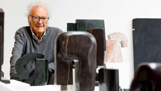 Herbert Albrecht zählte zu bedeutendsten zeitgenössischen Bildhauern Österreichs. (Bild: Mathis Fotografie)
