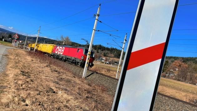 Der Bahnlärm auf der Wörtherseestrecke von Klagenfurt nach Villach ist zu hoch. (Bild: Evelyn Hronek Kamerawerk)