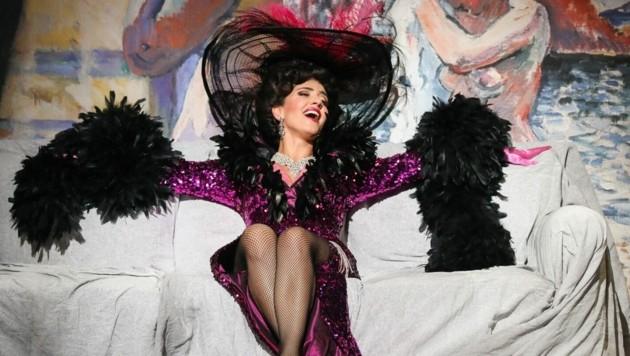 Ani Yorentz singt die Hauptrolle im Graf von Luxemburg (Bild: Barbara Palffy)