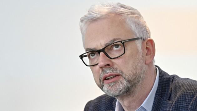 Verbund-General Strugl: Geld genug für die Zukunft (Bild: APA/HANS PUNZ)