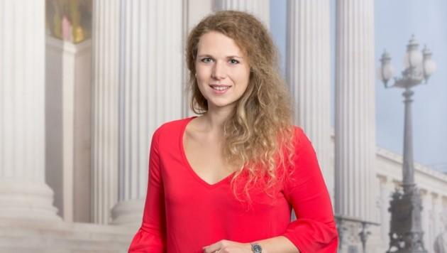 Nationalrätin Johanna Jachs gilt als Favoritin auf den Posten der ÖVP-Chefin in Freistadt. (Bild: Philipp Simonis)