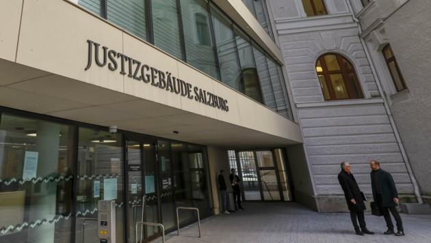 Prozess fand im Justizgebäude Salzburg statt, dem Sitz des Landesgerichtes (Bild: Tschepp Markus)