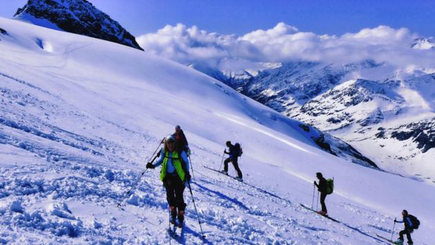 In der Innerkrems setzen die Initiatoren verstärkt auf die Skitourengeher. Ein Kompetenzzentrum wird errichtet. (Bild: Siegi Hatzer)