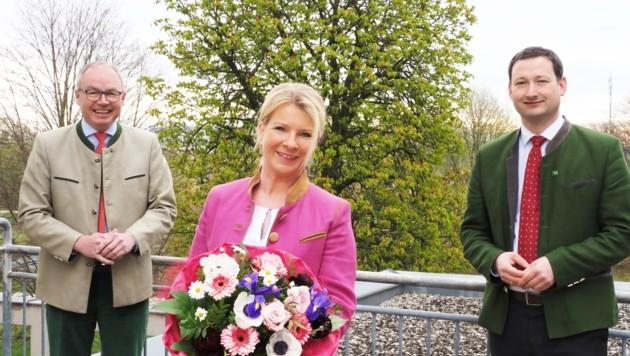 Irene Neumann-Hartberger räumt ihren Platz für den Ex-Kanzler Kurz. (Bild: Gabriele Moser)