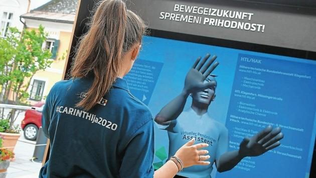 Der Start der Mobilen Ausstellung erfolgte im vergangenen Jahr in der Abstimmungsstadt Völkermarkt. (Bild: Evelyn HronekKamerawerk)