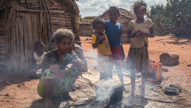 Aktuell hungern rund 811 Millionen Menschen weltweit. (Bild: AFP)