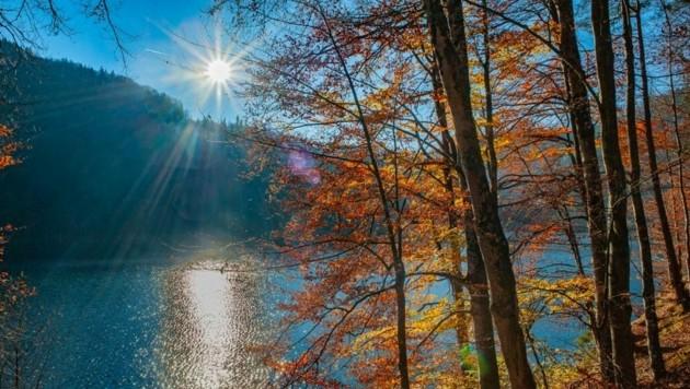 Der Hechtsee in Kufstein. (Bild: Hubert Berger)