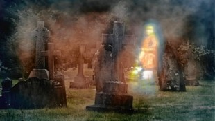 Nicht nur an Halloween sind Friedhöfe mystische Orte. (Symbolbild) (Bild: Copyright (c) Mr C Elwell 2013)